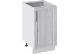 Шкаф напольный (ПРОВАНС (Белый глянец/Санторини светлый))