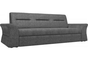 Прямой диван Клайд Серый (Рогожка)