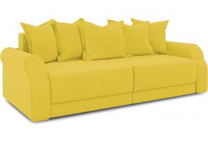 Диван «Люксор» (Neo 08 (рогожка) желтый)