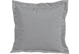 Подушка малая П2 (Poseidon Grey (иск.замша) серый)