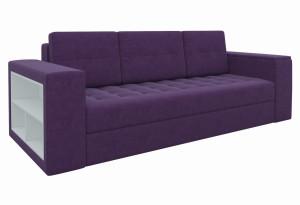 Диван прямой Пазолини Фиолетовый (Микровельвет)