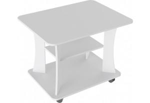 Стол журнальный Тип 8 (Белый Ясень)