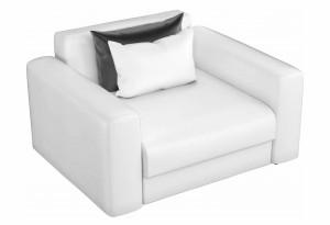 Кресло Мэдисон Белый (Экокожа)