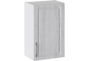 Шкаф навесной (ПРОВАНС (Белый глянец/Санторини светлый))