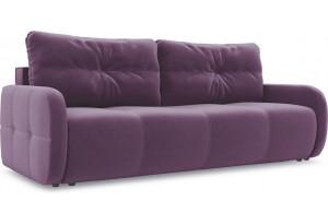 Диван «Томас Slim» Kolibri Violet (велюр) фиолетовый
