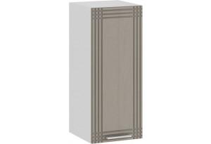 Шкаф навесной c одной дверью «Ольга» (Белый/Кремовый)