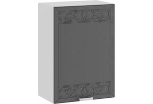 Шкаф навесной c одной дверью «Долорес» (Белый/Титан)