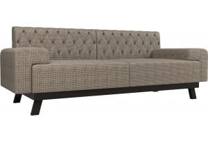 Прямой диван Мюнхен Люкс корфу 03 (Рогожка)