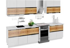 Кухонный гарнитур длиной - 300 см Фэнтези (Вуд)