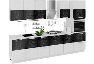 Кухонный гарнитур длиной - 300 см (с пеналом ПБ) Фэнтези (Лайнс)