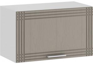 Шкаф навесной c одной откидной дверью «Ольга» (Белый/Кремовый)
