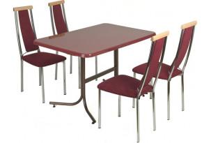 Столовая группа Паук+ стулья Прима-М