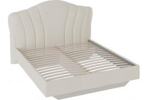 Кровать «Сабрина» с мягким изголовьем (1400) (Ткань Кашемир)