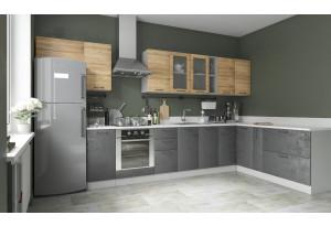 Кухня Лофт угловая 3,8 х 2,0 м (модульная система)