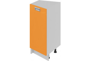 Шкаф напольный торцевой (левый) (БЬЮТИ (Оранж))