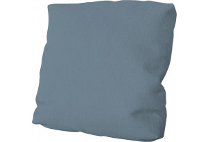 Подушка малая П1 (Poseidon Ocean (иск.замша) серо-голубой)