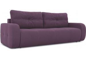 Диван «Томас» Kolibri Violet (велюр) фиолетовый