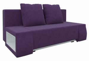 Диван прямой Шарль люкс Фиолетовый (Микровельвет)