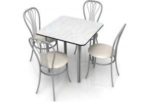 Столовая группаОбвязка труба двойная+стулья Ромашка
