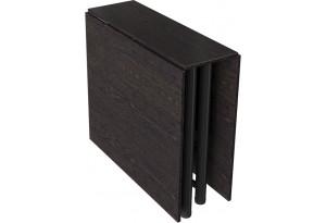 Стол-книжка «Куба» (Черный муар/Венге)