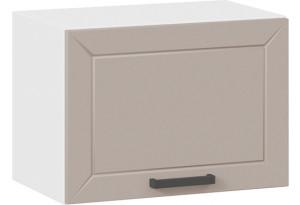Шкаф навесной c одной откидной дверью «Лорас» (Белый/Холст латте)