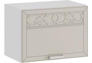 Шкаф навесной c одной откидной дверью «Долорес» (Белый/Крем)