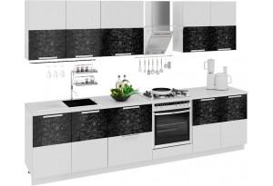 Кухонный гарнитур длиной - 300 см (со шкафом НБ) Фэнтези (Лайнс)