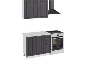 Кухонный гарнитур «Лина» стандартный набор (Белый/Графит)