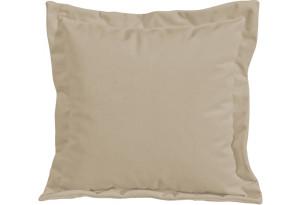 Подушка малая П2 (Poseidon Latte (иск.замша) коричнево-бежевый)