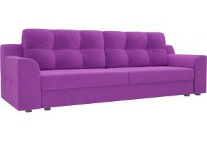 Прямой диван Сансара Фиолетовый (Микровельвет)