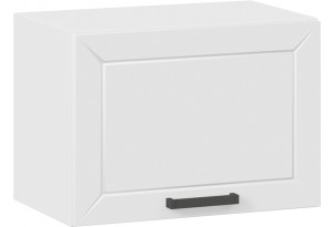 Шкаф навесной c одной откидной дверью «Лорас» (Белый/Холст белый)