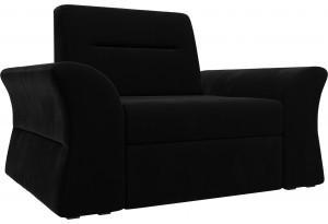 Кресло Клайд Черный (Микровельвет)
