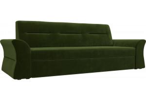 Прямой диван Клайд Зеленый (Микровельвет)