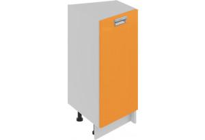 Шкаф напольный торцевой (правый) (БЬЮТИ (Оранж))