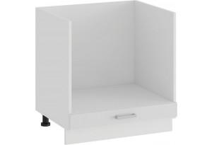 Шкаф напольный под бытовую технику «Долорес» (Белый/Сноу)