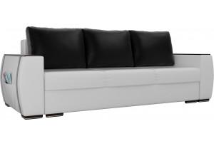 Прямой диван Брион Белый (Экокожа)