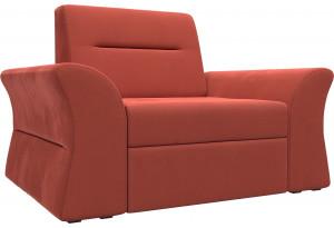 Кресло Клайд Коралловый (Микровельвет)