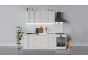 Кухонный гарнитур «Ольга» длиной 180 см (Белый/Белый)