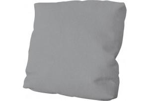 Подушка малая П1 (Poseidon Grey (иск.замша) серый)