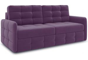 Диван «Райс Slim» Kolibri Violet (велюр) фиолетовый