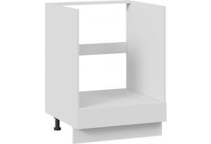 Шкаф напольный под бытовую технику с 1-м ящиком (СКАЙ (Белоснежный софт))