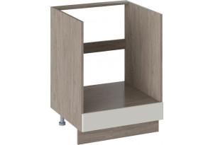 Шкаф напольный под бытовую технику ОДРИ (Бежевый шелк)
