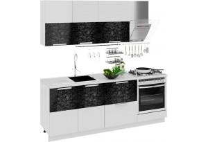 Кухонный гарнитур длиной - 210 см (со шкафом НБ) Фэнтези (Лайнс)