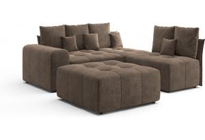 Модульный диван Торонто Вариант композиции 7, вариант исполнения 2
