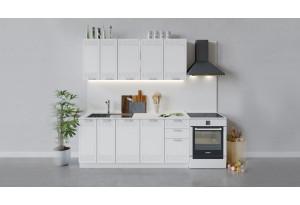 Кухонный гарнитур «Долорес» длиной 180 см (Белый/Сноу)