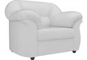 Кресло Карнелла Белый (Экокожа)