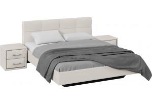 Спальный гарнитур «Элис» стандартный без шкафа (Светлый)