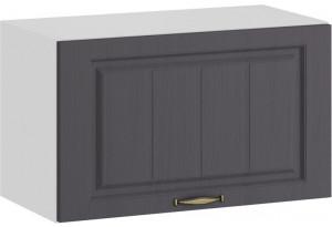 Шкаф навесной c одной откидной дверью «Лина» (Белый/Графит)