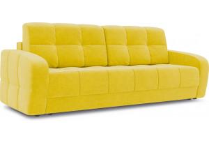 Диван «Аспен» Maserati 11 (велюр), желтый