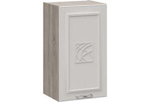 Шкаф навесной с декором САБРИНА (Кашемир) 400x323x720